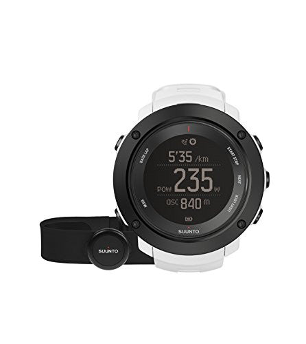 Suunto Ambit3 Vertical HR Monitor Running GPS Unit, White