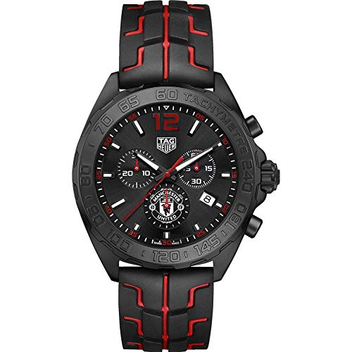 TAG Heuer Formula 1 Manchester United 43mm Men's Watch CAZ101J.FT8027