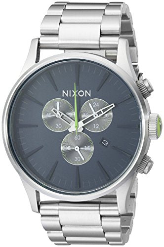 Nixon Men's A3861981 Geo Volt Sentry Chrono Watch