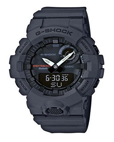 Men's Casio G-Shock Urban Trainer Charcoal Watch GBA800-8A