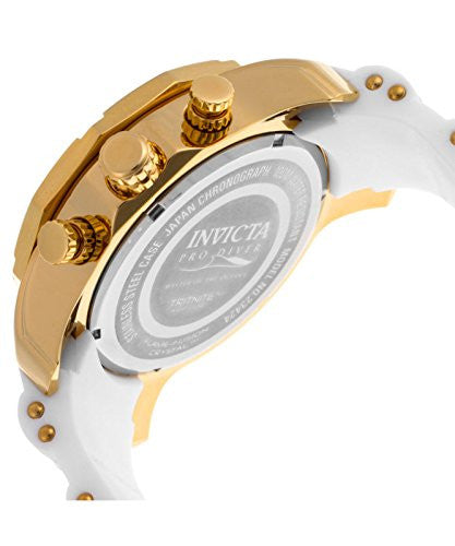 Invicta Men's 'Pro Diver' Quartz Stainless Steel and Silicone Casual Watch 23424