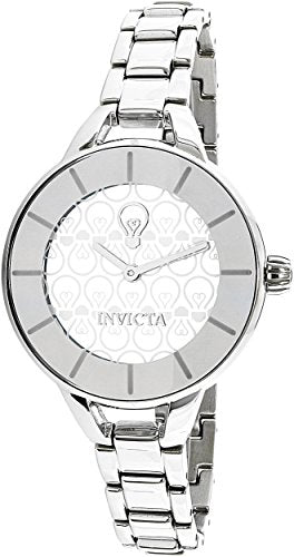 Invicta Women's 'Gabrielle Union' Quartz Stainless Steel Casual Watch, Color:Silver-Toned (Model: 22910)