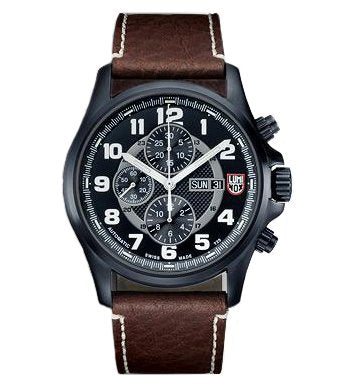 Luminox Automatic Valjoux Field Chronograph 1860 Series Black Dial men's watch #1867