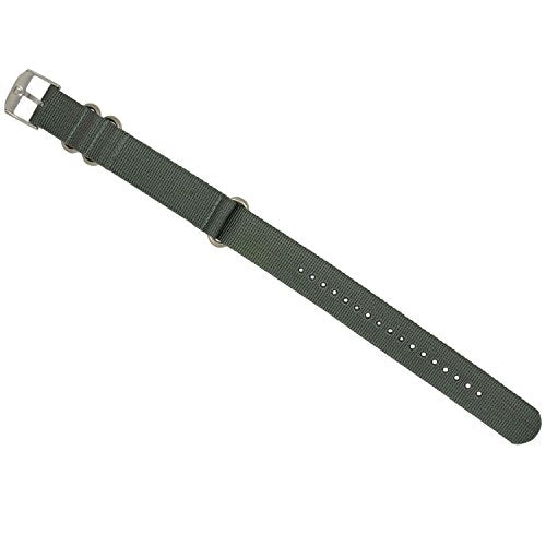 Luminox 3050 Strap Replacement Watch Band Grey Nylon 23mm