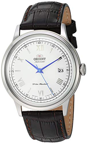 Orient 'Bambino Version 2' Stainless Steel Japanese Automatic / Hand-Winding Dress Watch