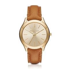 Michael Kors Women's Slim Runway Brown Watch MK2465