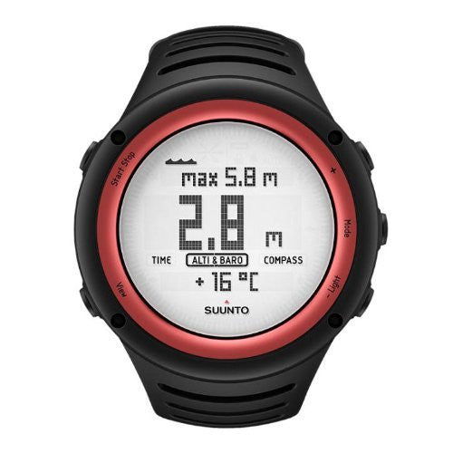 Suunto Core Altimeter Watch Lava Red, One Size