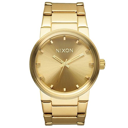 Nixon The Cannon A160502 Unisex Gold Plated Watch