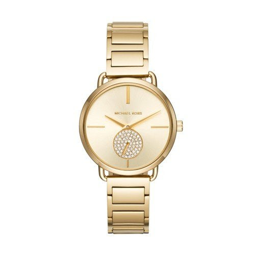 Michael Kors Women's Portia Gold-Tone Watch MK3639