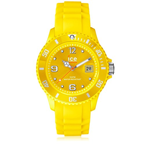 Ice-Watch Men's SI.YW.B.S.09 Sili Collection Yellow Plastic and Silicone Watch