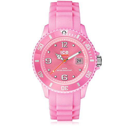 Ice-Watch Women's SIPKSS09 Sili Collection Pink Dial Watch