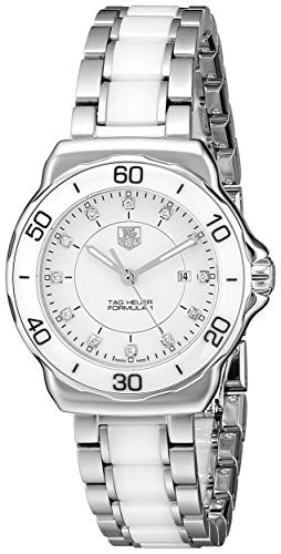 Tag Heuer Women's WAH1315.BA0868 Formula 1 Stainless Steel Sport Watch with Diamonds