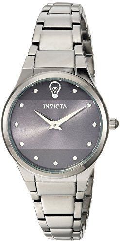 Invicta Women's 'Gabrielle Union' Quartz Stainless Steel Casual Watch, Color:Grey (Model: 23276)