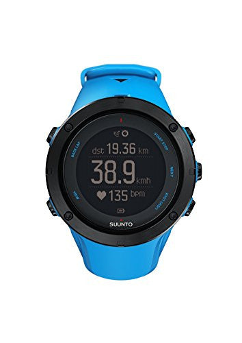 Suunto Ambit3 Peak HR Monitor Running GPS Unit, Sapphire Blue