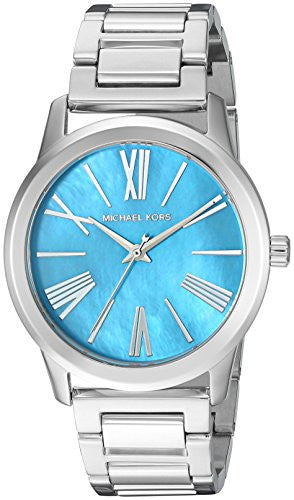 Michael Kors Women's Hartman Silver-Tone Watch MK3519