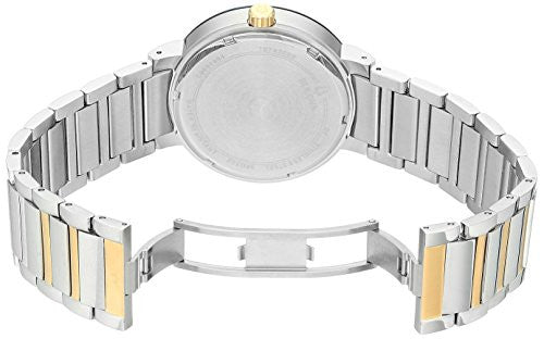 Bulova Men's Quartz Stainless Steel Dress Watch (Model: 98C123)