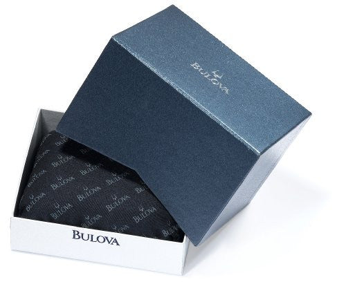Bulova Men's 96B125 Marine Star White Dial Watch