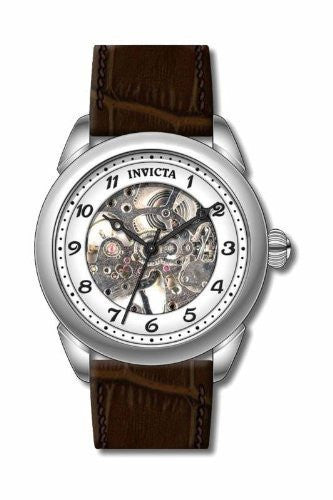 Invicta Men's 17187 Specialty Analog Display Mechanical Hand Wind Brown Watch