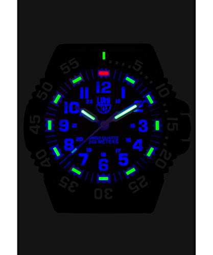 Luminox Black Plastic Quartz Wall Clock