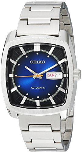 Seiko Men's 'RECRAFT Series' Automatic Stainless Steel Casual Watch, Color:Silver-Toned (Model: SNKP23)