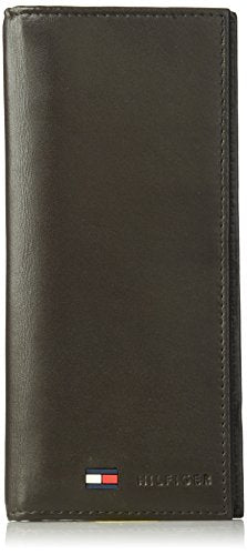 Tommy Hilfiger Men's Sheepskin Secretary Wallet