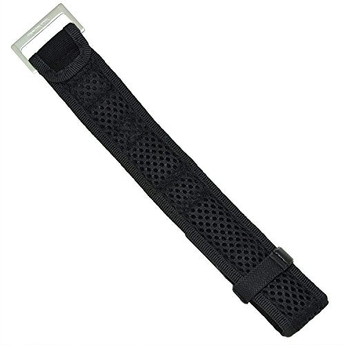 Luminox 3900 Strap Replacement Watch Band Fabric Black 22mm
