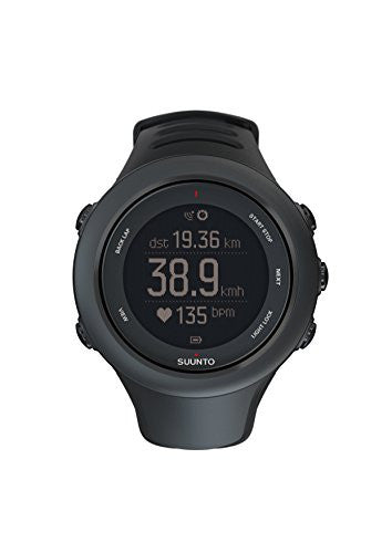 Suunto Ambit3 Sport HR Monitor Running GPS Unit, Black