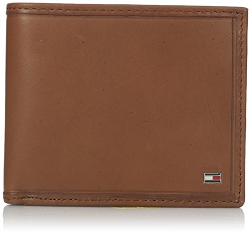 Tommy Hilfiger Men's 100% Leather Multicard Passcase Wallet