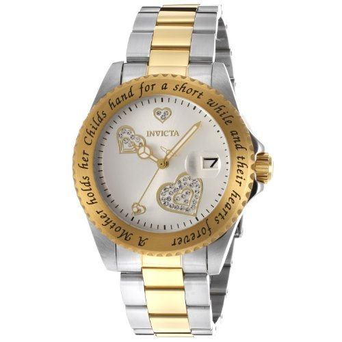 Invicta Women's 14730 Angel Analog Japanese-Quartz Two Tone Watch