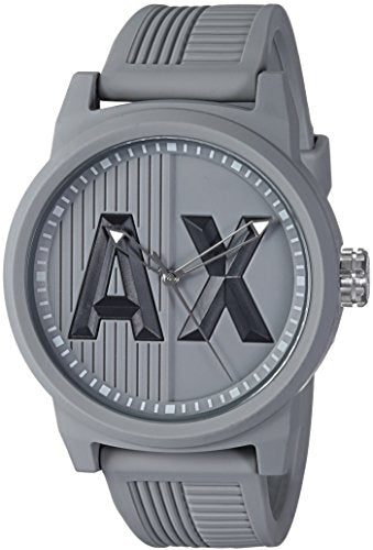 Armani Exchange Men's AX1452 ATLC Grey Silicone Watch