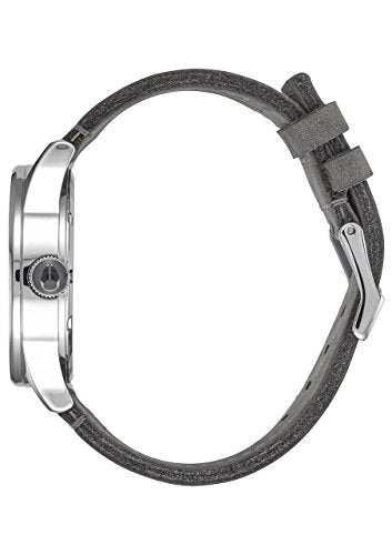 Nixon Sentry Charcoal Leather Watch A105147