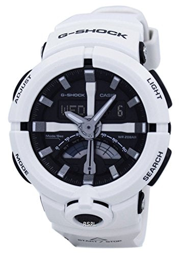 Casio G Shock Urban White Resin Mens Watch GA500-7A