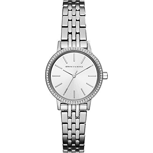 Armani Exchange Women's Dress Silver  Watch AX5541