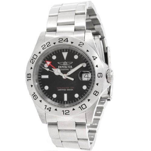 Invicta Men's 'Specialty' Quartz Stainless Steel Casual Watch, Color:Silver-Toned (Model: 9401)