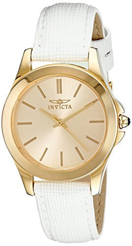 Invicta Women's 15149 Angel 18k Yellow Gold Plated Stainless Steel Watch