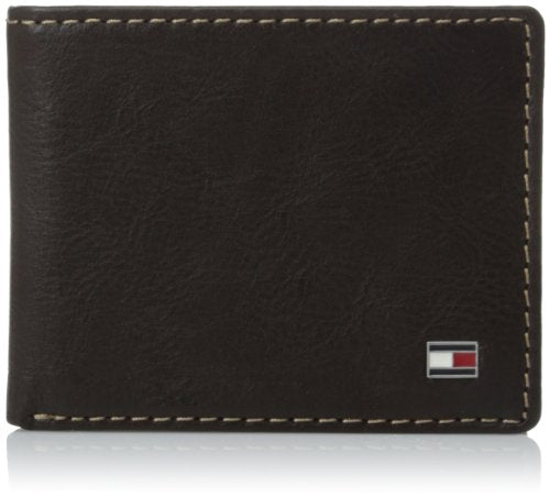 Tommy Hilfiger Men's Logan Passcase, Brown, One Size