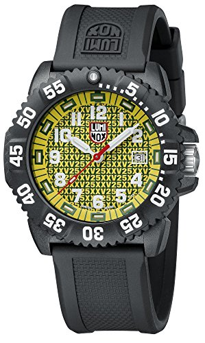 Luminox Men's 25th Anniversary 3050 Series Watch 3055.25TH Yellow