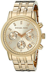 Michael Kors Women's Ritz Gold-Tone Watch MK5676