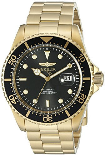 Invicta Men's 'Pro Diver' Quartz Stainless Steel Casual Watch (Model: 22062)