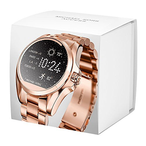 Michael Kors Access Touchscreen Rose Gold Bradshaw Smartwatch MKT5004