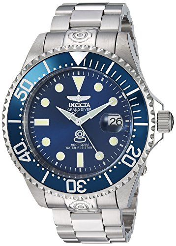 Invicta Men's Automatic Stainless Steel Casual Watch, Color:Silver-Toned (Model: 24765)