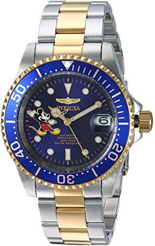 Invicta Men's Automatic Stainless Steel Casual Watch, Color:Two Tone (Model: 24754)