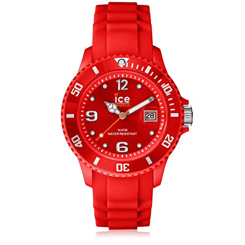 Ice-Watch Men's SI.RD.B.S.09 Sili Collection Red Plastic and Silicone Watch