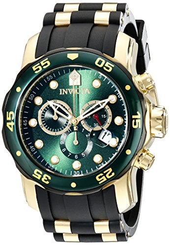 Invicta Men's 17886 Pro Diver Analog Display Swiss Quartz Black Watch