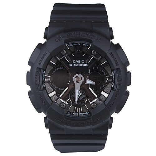 Ladies' Casio G-Shock XL Black Resin Watch GMAS120MF-1A
