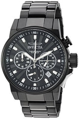 Invicta Men's 'I-Force' Quartz Stainless Steel Casual Watch, Color:Black (Model: 23090)