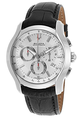 Bulova Men's 63B138 Stratford Analog Display Swiss Quartz Black Watch