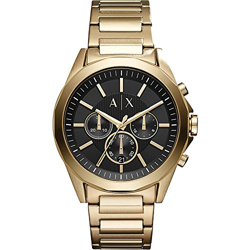 Armani Exchange Men's Dress Gold  Watch AX2611