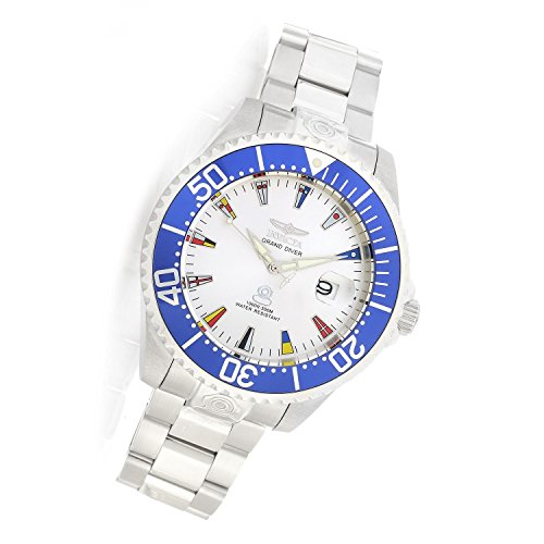 Invicta Men's 21324 Grand Pro Diver 47mm International Automatic Stainless Steel Bracelet Watch