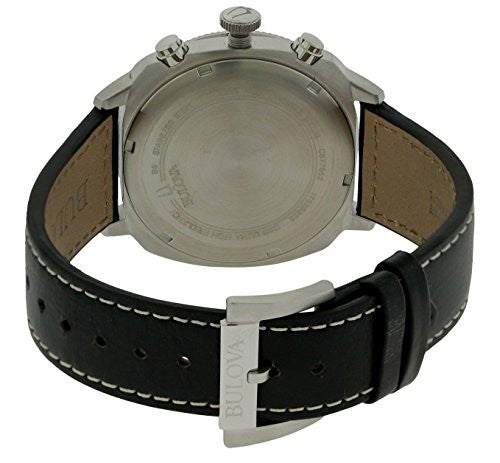 70f4549b8 Bulova Men's 96B231 Analog Display Quartz Black Watch — RealWatches.com
